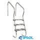 Escalera piscina de facil acceso Kripsol AISI 316