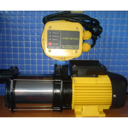 Grupo de presión con electrobomba + pres control para el suministro automático de agua para viviendas / jardines