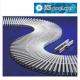 Rejilla para piscinas rebosadero transversal reversible