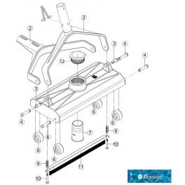 Repuestos kripsol carro limpiafondos manual CLP52