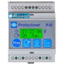 Modulo digital Protectimer cuadro eléctrico piscina