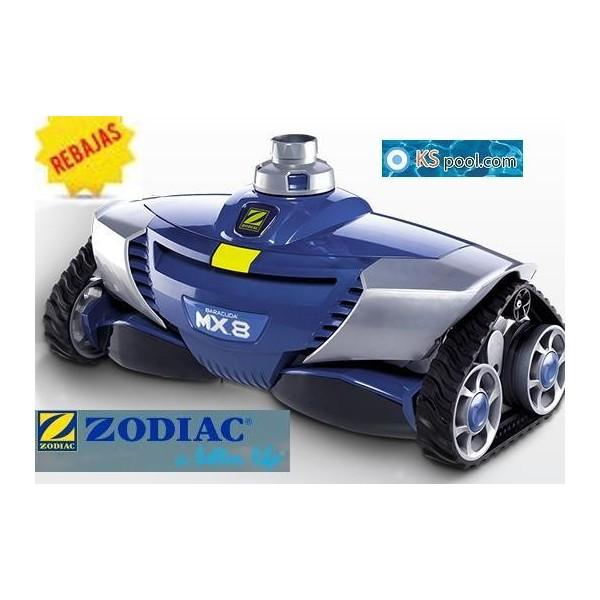 Limpiafondos hidraulico zodiac mx8 for Zodiac piscinas