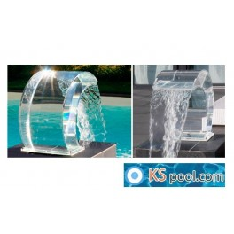 Cascada de agua acrilica Tropic piscinas, spas
