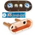 Placa de mando para pulsadores neumáticos