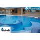 Gresite Hisbalit azul niebla Jonico piscinas