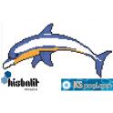 Gresite dibujo delfin / delfino piscina HTK