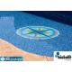 Gresite dibujo compas piscina HTK