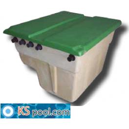 Caseta depuradora completa para piscinas