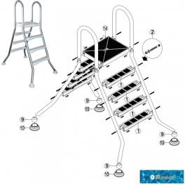 Repuestos kripsol escaleras elevadas-semielevadas