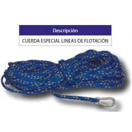 Cuerda especial corcheras piscinas olimpicas competicion