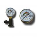 Manometro para filtro piscinas lateral / trasero