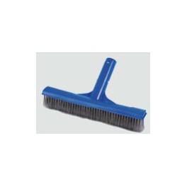 Cepillo limpieza clip cerdas inoxidable para piscinas