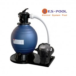 Conjunto de filtracion para piscinas portatiles compacto