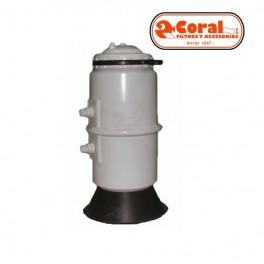 Dosificador de cloro o bromo en pastillas Coral / Qp