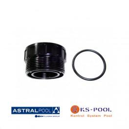 Recambio racord 1-1/2 + junta y conexión para filtro astralpool