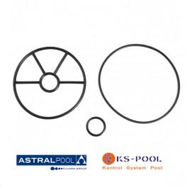 Recambio junta estrella para valvula selectora Astralpool