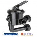 "Valvula selectora lateral de 1½"" 20569 New Generation AstralPool"