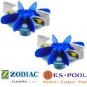 Kit de hélices y cepillos limpiafondos MX8 / MX9 Zodiac R0756300