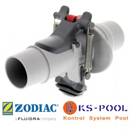 Válvula de regulación automática de caudal para limpia fondos Zodiac.