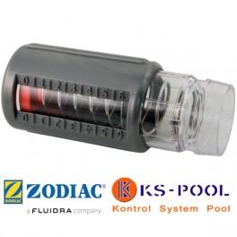 Medidor de caudal para limpiafondos hidraulicos Zodiac.