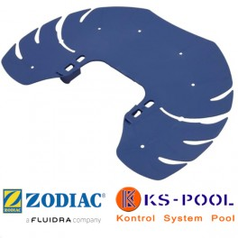 Disco trasero azul limpiafondos T5 Zodiac.