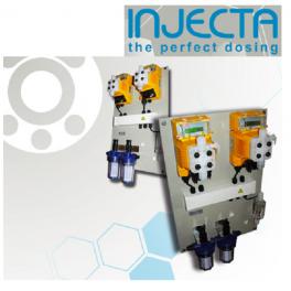 Panel dosificacion Injecta piscina para ajuste de ph y rx Helios 01