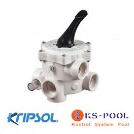 Valvula selectora Kripsol / Hayward filtro lateral 6 vias