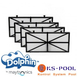 Kit filtros ultra fino acceso inferior Dolphin Maytronics