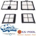 Kit filtros ultra fino limpia fondos automático Dolphin Maytronics