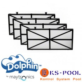 Kit filtros primavera acceso inferior Dolphin Maytronics