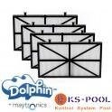 Kit filtros ultra fino de acceso superior Dolphin Maytronics