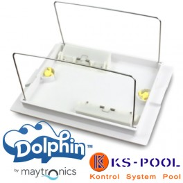 Soporte de bolsa y tapa inferior Dolphin Maytronics.