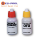 Recambio botes liquido analizador de pH y oto cloro para piscinas