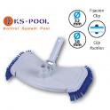 Limpiafondos con cepillos laterales para limpieza de piscinas