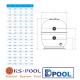Filtro laminado para depuradoras de piscinas fiyi