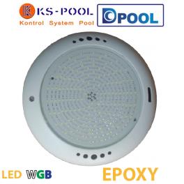 Proyector foco piscina led blanco y colores WGB Nordic Epoxy