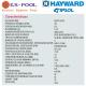 Bomba calor para piscinas HCH Energy Pro Line Hayward Kripsol