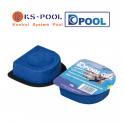Floculante clarificante en monodosis gel Dpool para piscinas, para combatir la turbidez del agua en piscinas