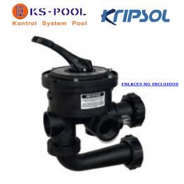 Valvula selectora piscina Kripsol / Hayward Variflo filtro lateral 6 vias