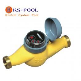 Contador de agua de chorro múltiple para piscinas