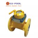 Contador de agua de Helice Tangencial para piscinas