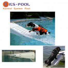 Rampa rescate salvavidas de mascotas / perros para piscinas