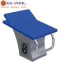Podium fina 7 posiciones para piscinas de competición, centros deportivos
