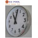 Reloj Analogico para marcar horario en piscinas de competicion.