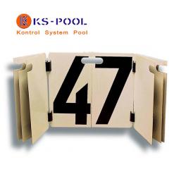 Cuenta vueltas homologado por F.E.N. para piscina de competicion