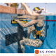 Partición espalda para piscinas olimpicas y de competicion