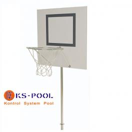 Canasta de baloncesto con anclaje para piscinas, lagos, playa, etc.