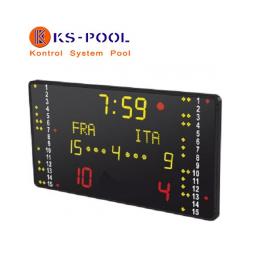 Marcador Competición Waterpolo para piscinas de competicion
