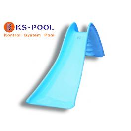 Tobogán poliester para piscina y zonas de juegos