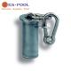 Anclaje soporte cadena para corcheras de piscinas competicion